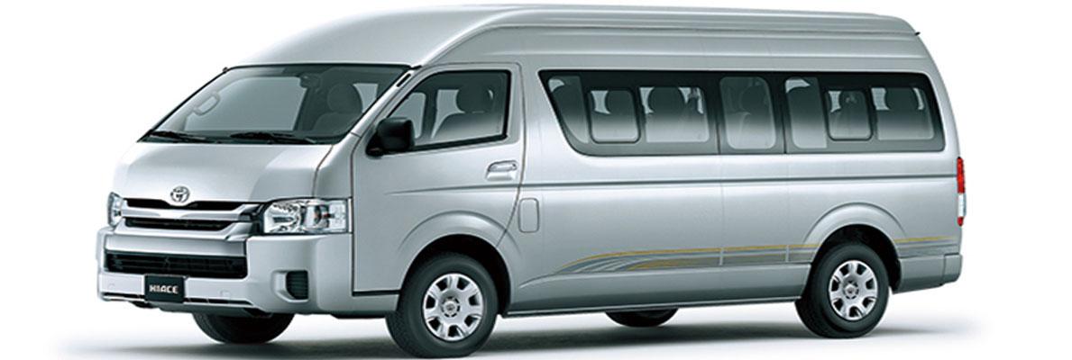 Toyota Hiace Booking